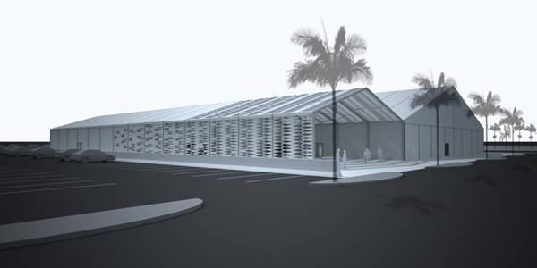 DESIGN MIAMI/ COMMISSIONS MOORHEAD & MOORHEAD TO DESIGN THE FAIR'S FIRST TEMPORARY STRUCTURE ON MIAMI BEACH