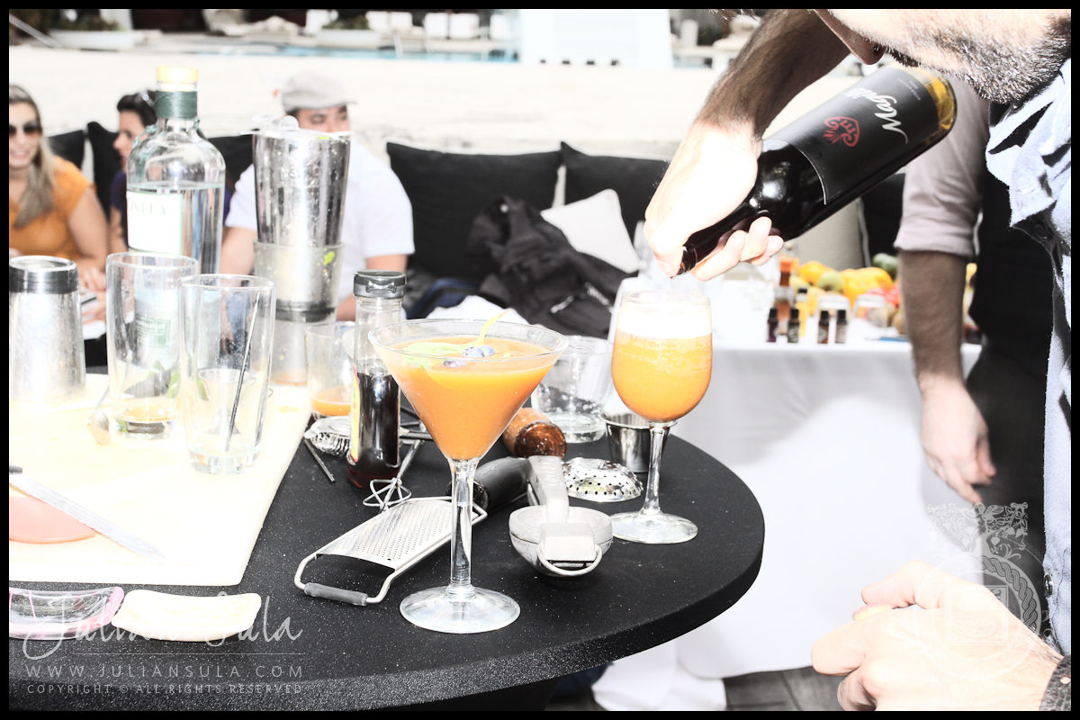 Drinks-Ocean Drive Magazine Mixologist Masters 2010 Event at the Raleigh Hotel in Miami