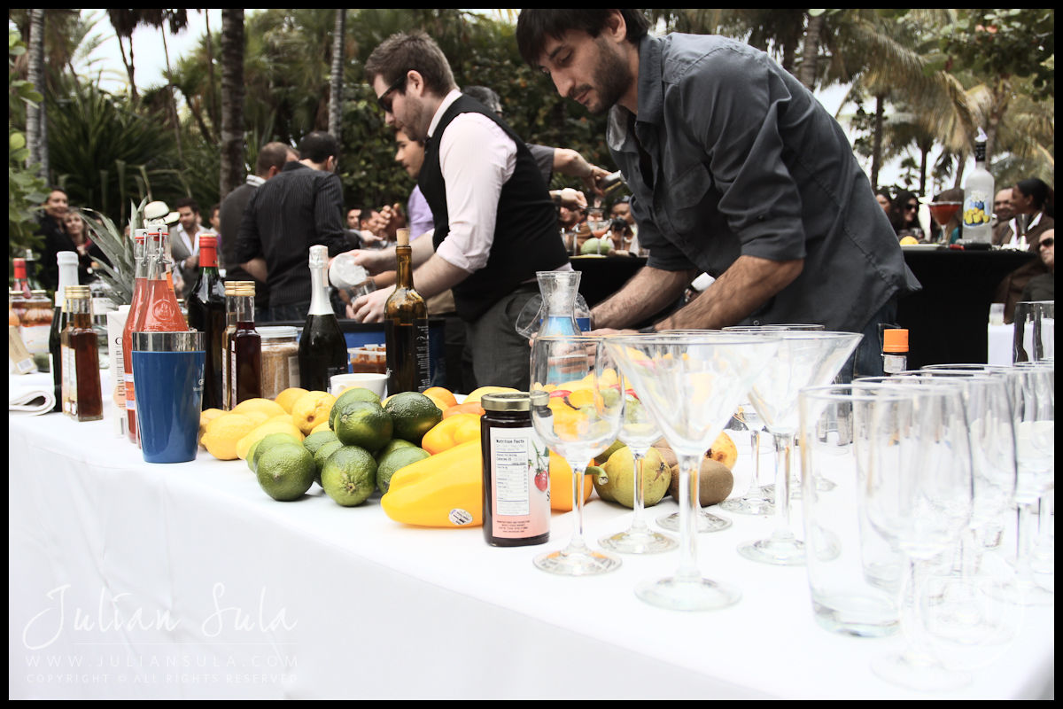 Mixers-Ocean Drive Magazine Mixologist Masters 2010 Event at the Raleigh Hotel in Miami
