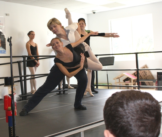 """Arts Ballet Theatre of Florida, under the Artistic Direction of Vladimir Issaev continues to present the program """"Arts Ballet Goes to School,"""" which offers free demonstrations and performances to the public schools of the area."""