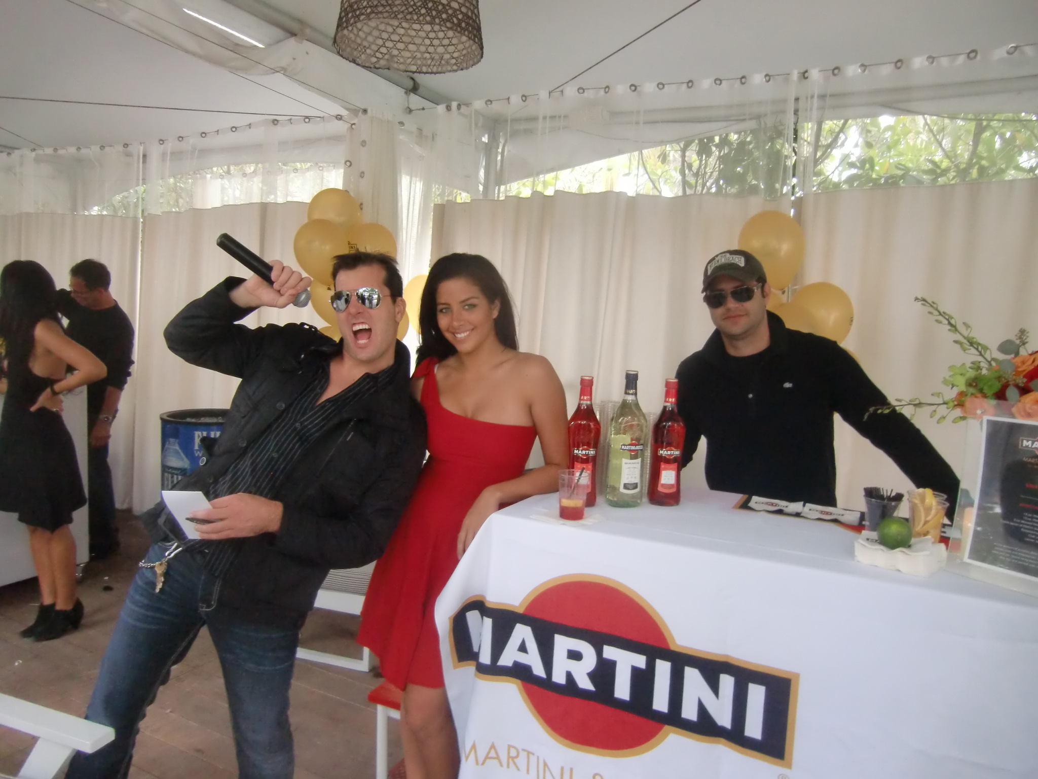 Host of the Ocean Drive Magazine Mixologist Masters 2010 Event at the Raleigh Hotel in Miami