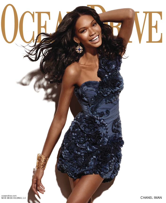 Chanel Iman, Ocean Drive Magazine November Cover