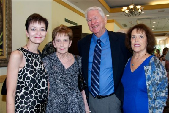 Ann Payne, Frances Payne, Jim and Judy Ambrose