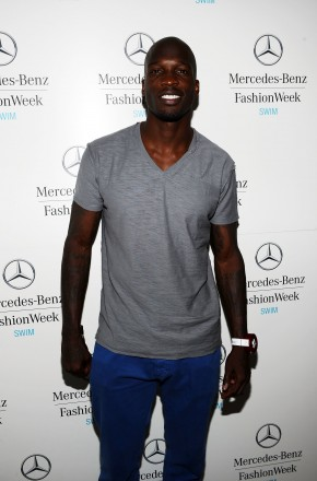 NFL player Chad Ochocinco attends Mercedes-Benz Fashion Week Swim at The Raleigh on July 14, 2011 in Miami Beach, Florida. (Photo by Michael Buckner/Getty Images for Mercedes-Benz)