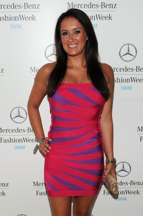 Andrea Arceneaux attends Mercedes-Benz Fashion Week Swim at The Raleigh on July 16, 2011 in Miami Beach, Florida. (Photo by Michael Buckner/Getty Images for Mercedes-Benz)