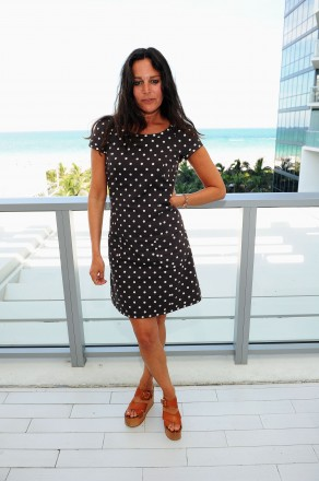 Lisa Marie Fernandez attends Mercedes-Benz Fashion Week Swim on July 16, 2011 in Miami Beach, Florida. (Photo by Michael Buckner/Getty Images for Mercedes-Benz)