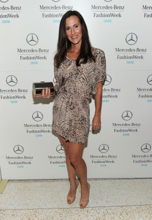 Michelle Benesch attends Mercedes-Benz Fashion Week Swim at The Raleigh on July 18, 2011 in Miami Beach, Florida. (Photo by Michael Buckner/Getty Images for Mercedes-Benz Swim)