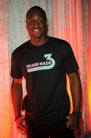 """NBA superstar Dwyane Wade at the Seminole Hard Rock Hotel & Casino on Wednesday, July 13 to """"Party with a Purpose"""" as host of a fundraiser for D-Wade All-Star Camp and the Kids 2 Camp Fund."""