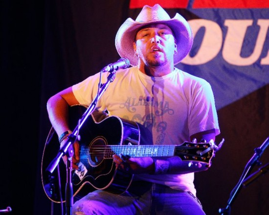 """Jason Aldean shocked fans when he hit the stage and revealed himself as the secret """"Undercover Artist"""" at Paradise Live at the Seminole Hard Rock Hotel & Casino – Hollywood on Sunday, July 17."""
