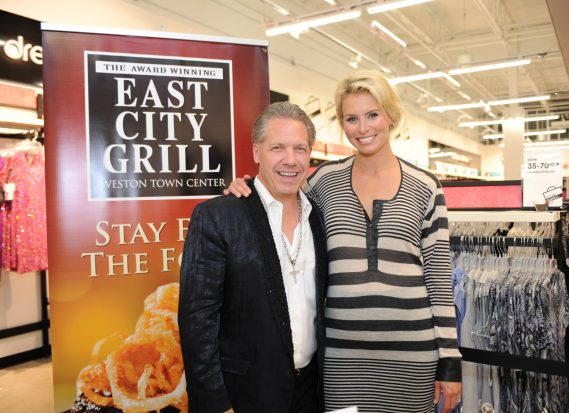 Jamie McDonnell, CEO of the Weston Dining Group and Niki Taylor