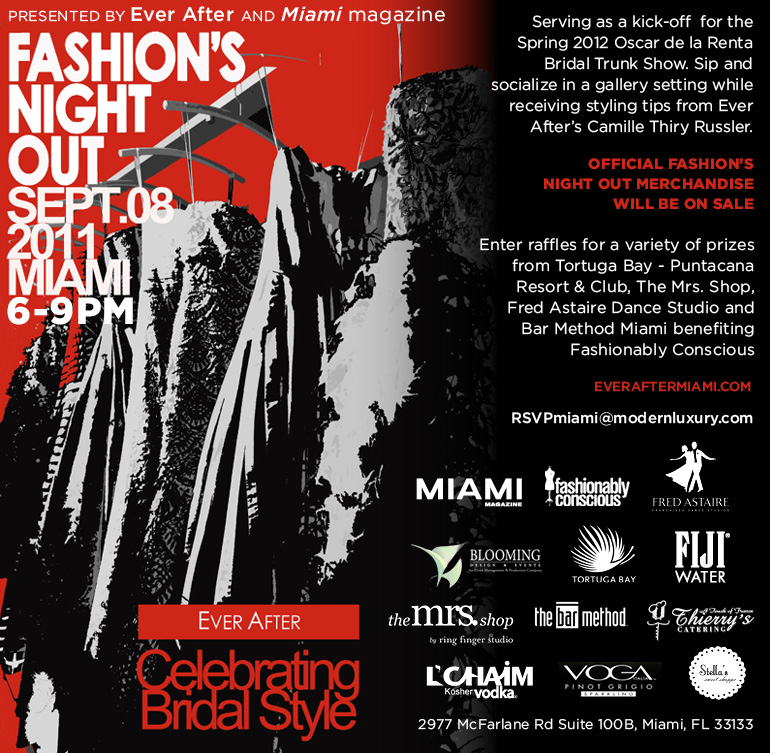 Fashion's Night Out at Ever After Miami