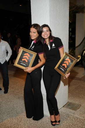 Lamborghini of Bal Harbour Models at Fashion's Night Out