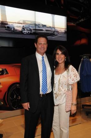 Warren Zinn, owner of Warren Henry Auto Group, Vicki Miller
