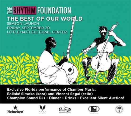 The Best of Our World Rhythm Foundation Season Launch September 30