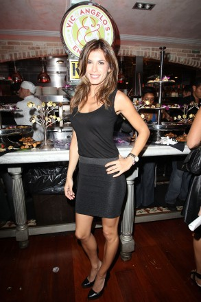Elisabetta Canalis at the Grand Opening of Vic & Angelo's South Beach presented by Ocean Drive Magazine