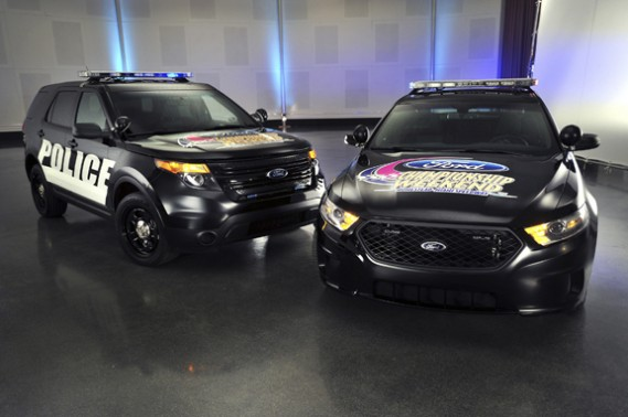 The 2013 Ford Police Interceptor Utility and Sedan will serve as the pace cars for this yearÕs Ford Championship Weekend NASCAR races at Homestead Miami Speedway Nov. 18-20. (11/08/2011)