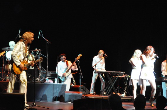 ABBA the Concert at the Fillmore Miami Beach by Gary Sandelier/Premier Guide Media