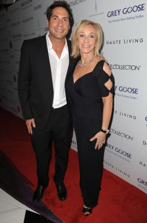 Joe Francis and Lea Black attend the Blacks' Annual Gala 2012 at Fontainebleau Miami Beach on March 24, 2012 in Miami Beach, Florida.