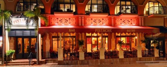pistache - exterior cafe