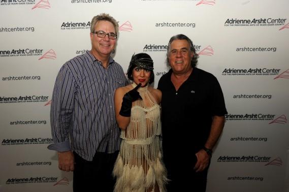 Alan Lieberman (President of South Beach Group) and John Richard (CEO/President of Adrienne Arsht Center)