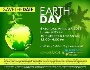 Miami Beach Earth Day 2013