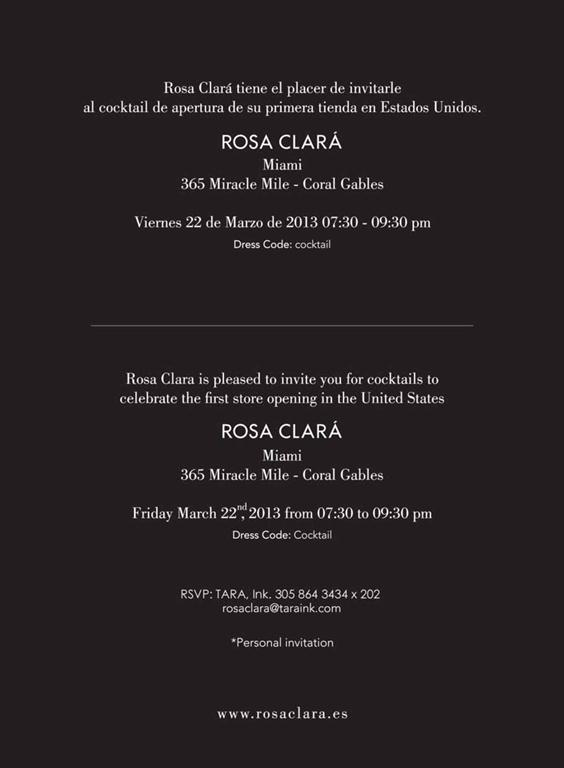 Rosa Clara debuts first US location on Miracle Mile