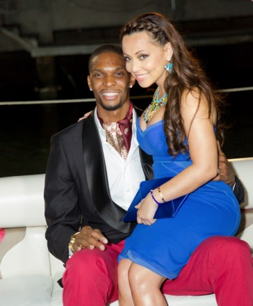 Chris and Adrienne Bosh2