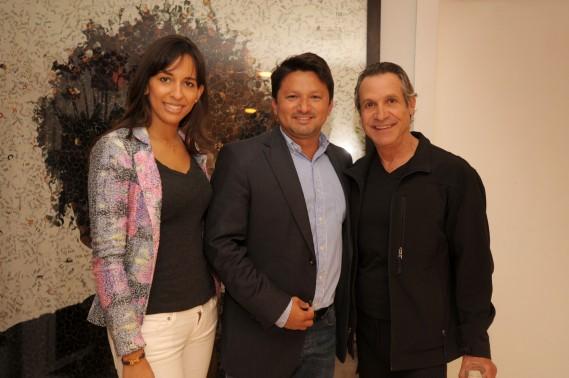 Dilcia Haddad, James Basilio, Ali Miranda
