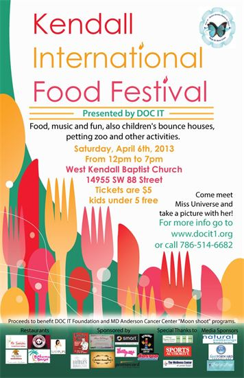 Kendall International Food Festival 2013