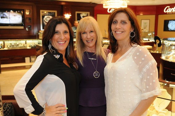 Diane Weinbrum ; Mindy Shrago, CEO & Executive Director at Young At Art Museum; and Jill Coleman