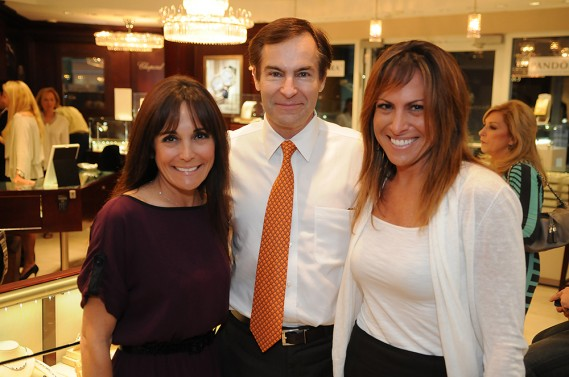 Lori Wellins, Jean Francois Roy, and Michelle Farber Ross