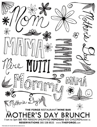 The Forge Restaurant Wine Bar hosts Mother's Day Sunday brunch