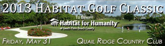 Habitat's annual Golf Classic