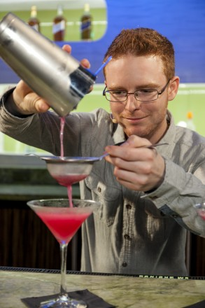 Dominic Laverty, Diageo Reserve WORLD CLASS GTME Americas winner 2013 - in action