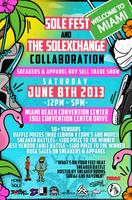 SoleFest & The SoleXChange Collaboration Miami Sneaker Show