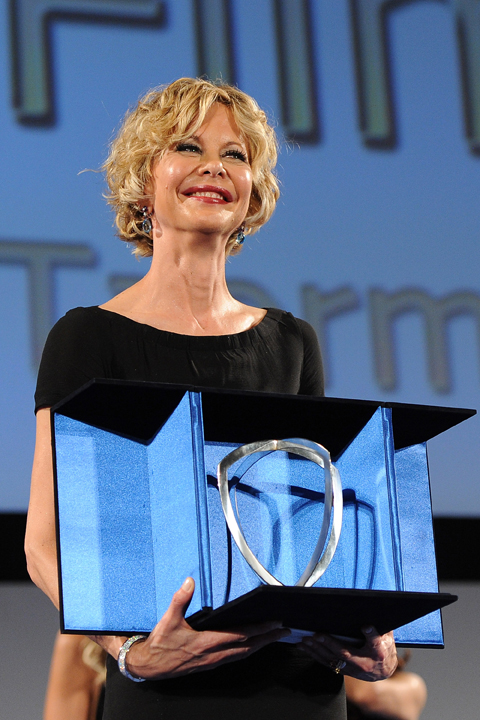 Celebrities At The Lancia Cafe - Day 6 - Taormina Filmfest 2013
