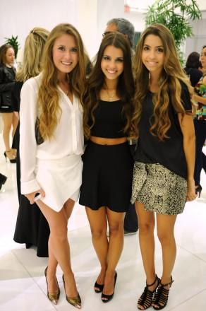 Audrey Maximo, Mariana & Helena Camargo
