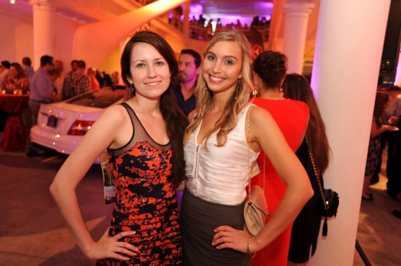 Desiree Fiorentino & Victoria Young at the Magazine Annual To Live & Dine Event at The Moore Building in The Design District