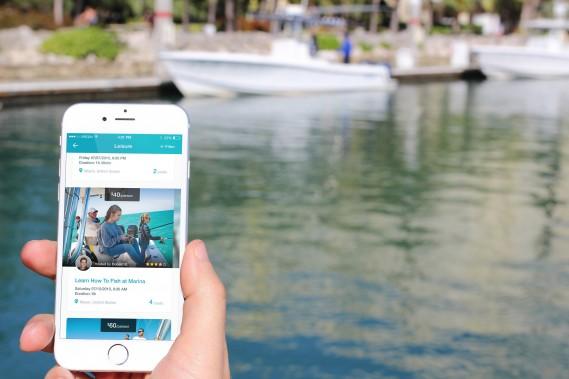 BoatDay App in Marina