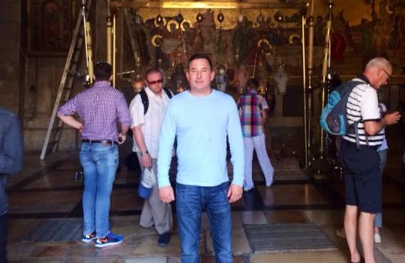 Dr. Mark Goodman in Jerusalem