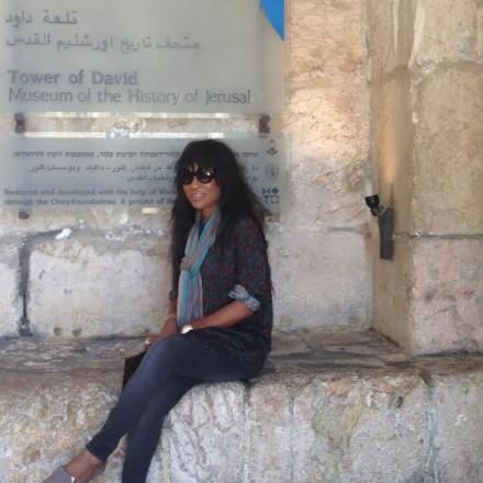 Tower of David Jerusalem Daedrian McNaughton with Dr. Mark Goodman
