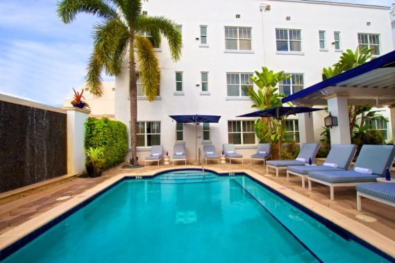 Historic Blue Moon Hotel in Miami's South Beach