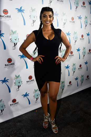 Model Anchal Joseph attends The Dean Collection X BACARDI Untameable House Party on December 3, 2015 in Miami, Florida.
