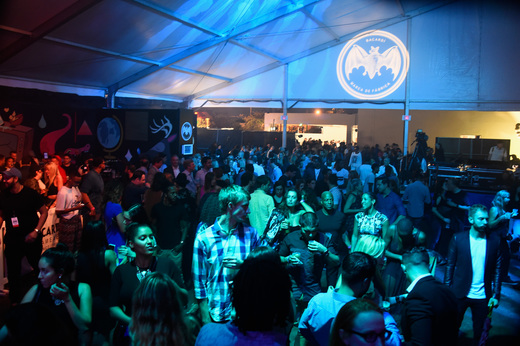 A view of the crowd at The Dean Collection X BACARDI Untameable House Party on December 3, 2015 in Miami, Florida.