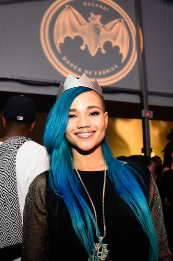Steph Lecor attends The Dean Collection X BACARDI Untameable House Party on December 3, 2015 in Miami, Florida.