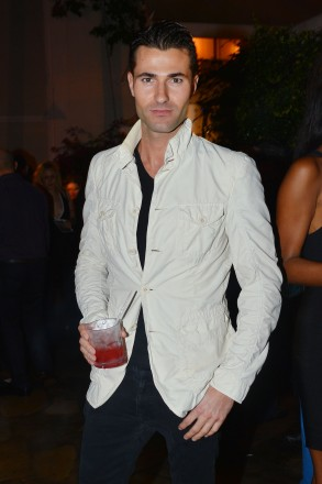 Alessandro Mele at Absolut Elyx and Water For People Art Basel benefit at Delano South Beach