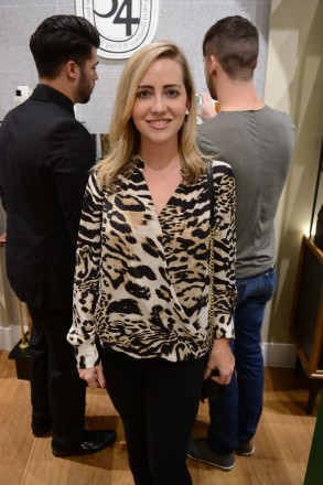 Ann Briggle at diptyque boutique at Bal Harbour Shops, Miami