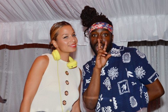 DJ Jasmine Solano, Melo-X at Absolut Elyx and Water For People Art Basel benefit at Delano South Beach