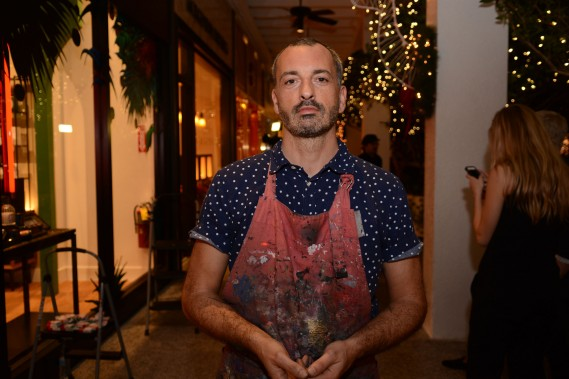 Julian Colombier at diptyque boutique
