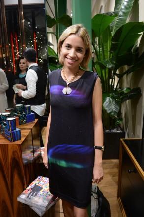 Lauren Pellerano Gomez at diptyque boutique at Bal Harbour Shops, Miami